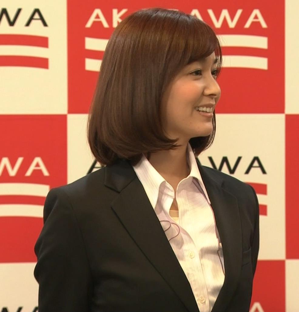 石橋杏奈 かわいいスーツ姿キャプ・エロ画像3