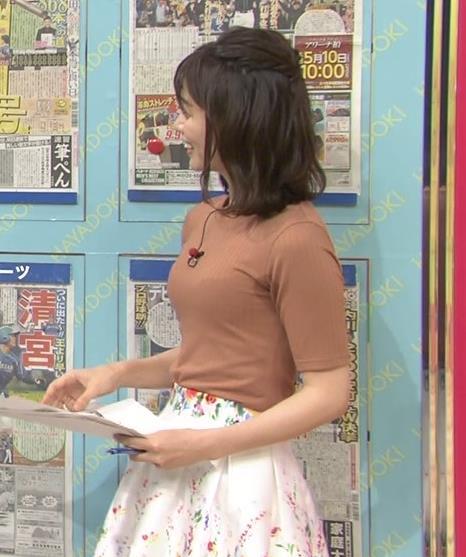伊藤京子アナ クッキリしたニットおっぱいキャプ・エロ画像