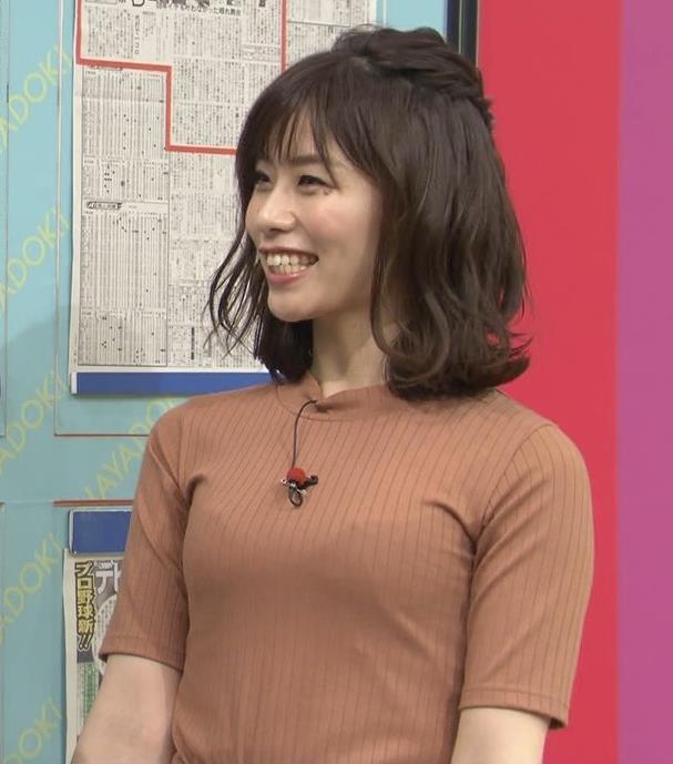 伊藤京子アナ クッキリしたニットおっぱいキャプ・エロ画像6