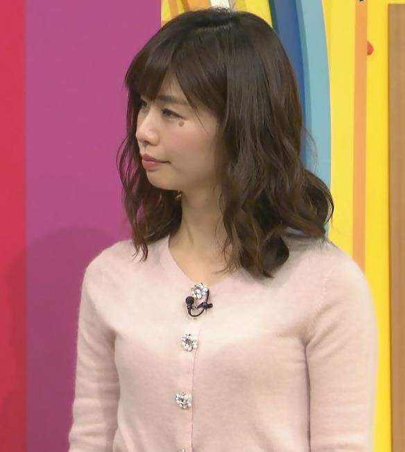 伊藤京子 ニット横乳(はやドキ!)キャプ・エロ画像6