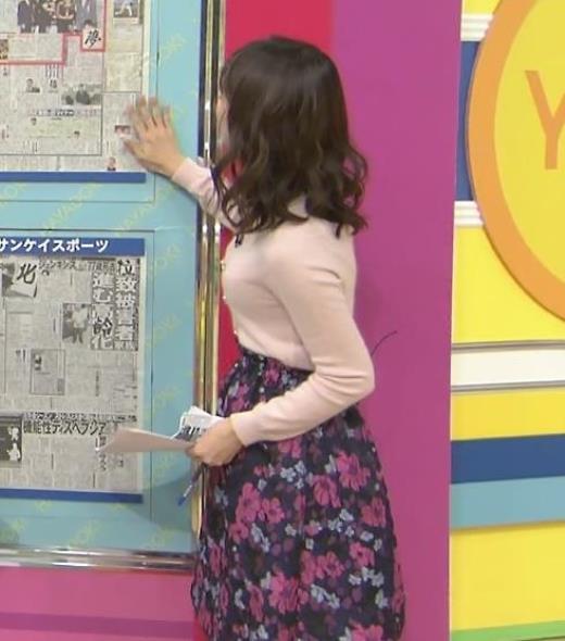 伊藤京子 ニット横乳(はやドキ!)キャプ画像(エロ・アイコラ画像)