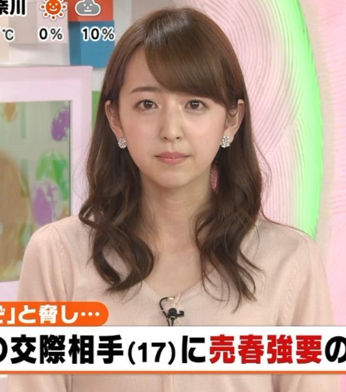 伊藤弘美 アナ ニットおっぱい♡キャプ・エロ画像2