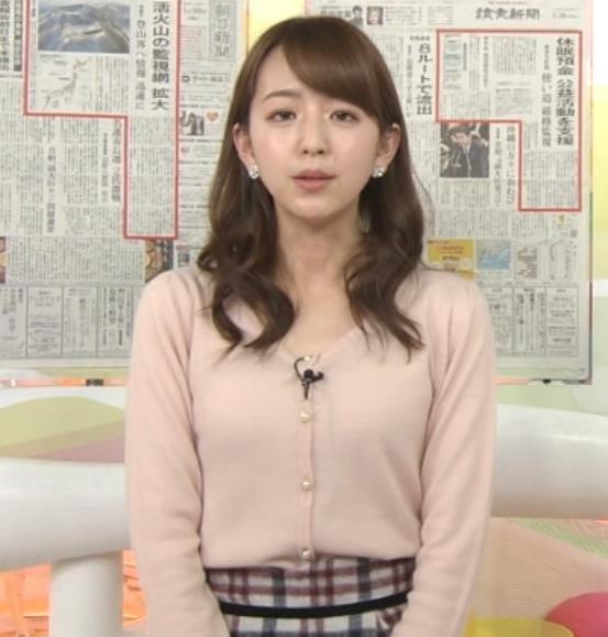 伊藤弘美 アナ ニットおっぱい♡キャプ・エロ画像4