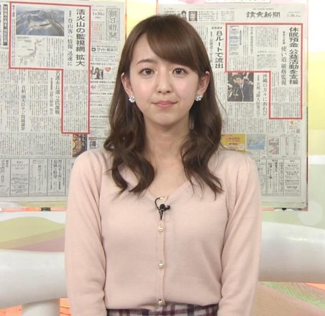 伊藤弘美 アナ ニットおっぱい♡キャプ・エロ画像5