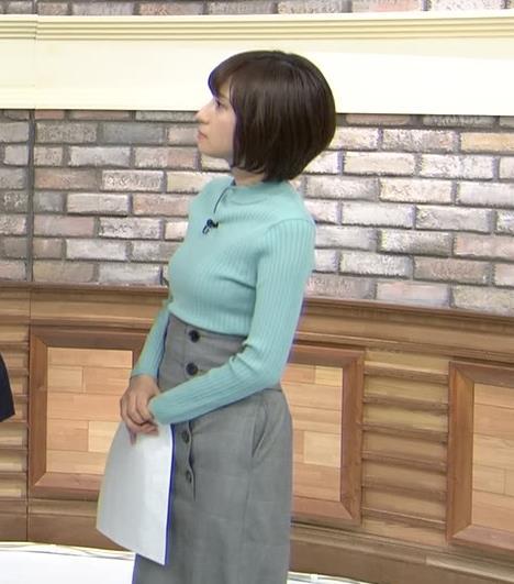 伊東楓アナ エロいニット横乳★キャプ・エロ画像
