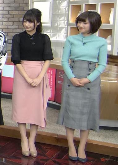 伊東楓アナ エロいニット横乳★キャプ・エロ画像2