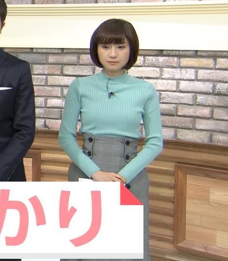 伊東楓アナ エロいニット横乳★キャプ・エロ画像3