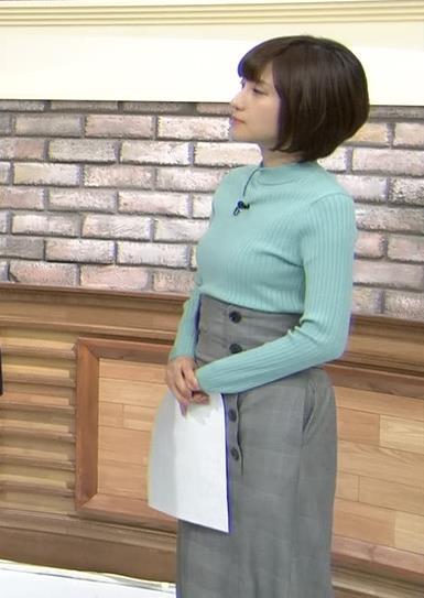 伊東楓アナ エロいニット横乳★キャプ・エロ画像4