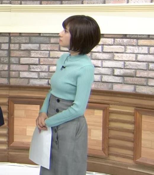 伊東楓アナ エロいニット横乳★キャプ画像(エロ・アイコラ画像)