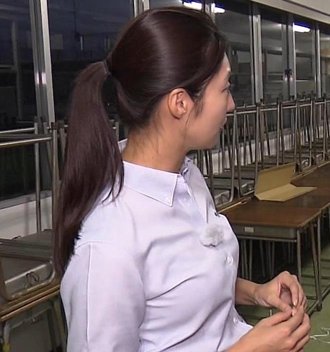 岩本乃蒼アナ プリケツや横乳とかキャプ・エロ画像