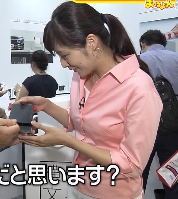 岩本乃蒼アナ シャツでおっぱいがちょいエロキャプ・エロ画像4