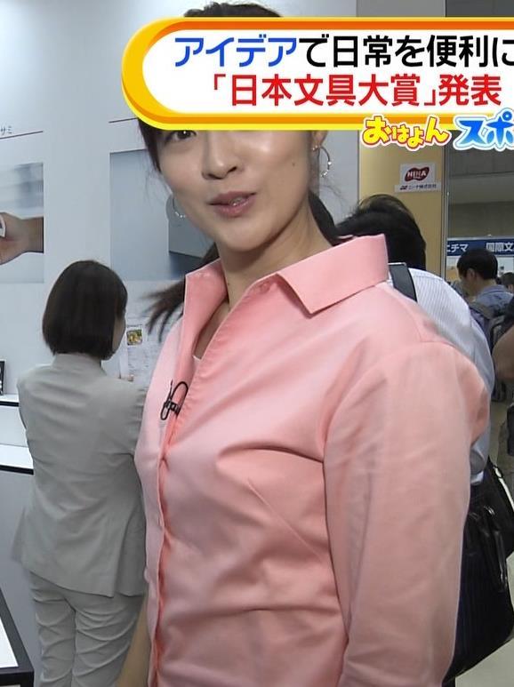 岩本乃蒼アナ シャツでおっぱいがちょいエロキャプ・エロ画像6