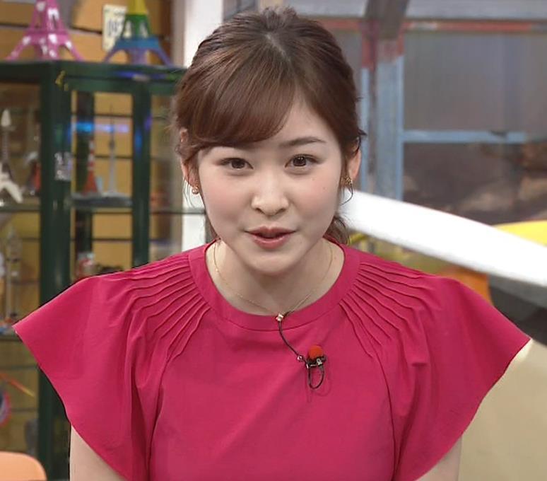 岩田絵里奈アナ ノースリーブでワキチラキャプ・エロ画像3