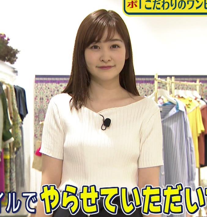 岩田絵里奈アナ エロいニット微乳キャプ・エロ画像5