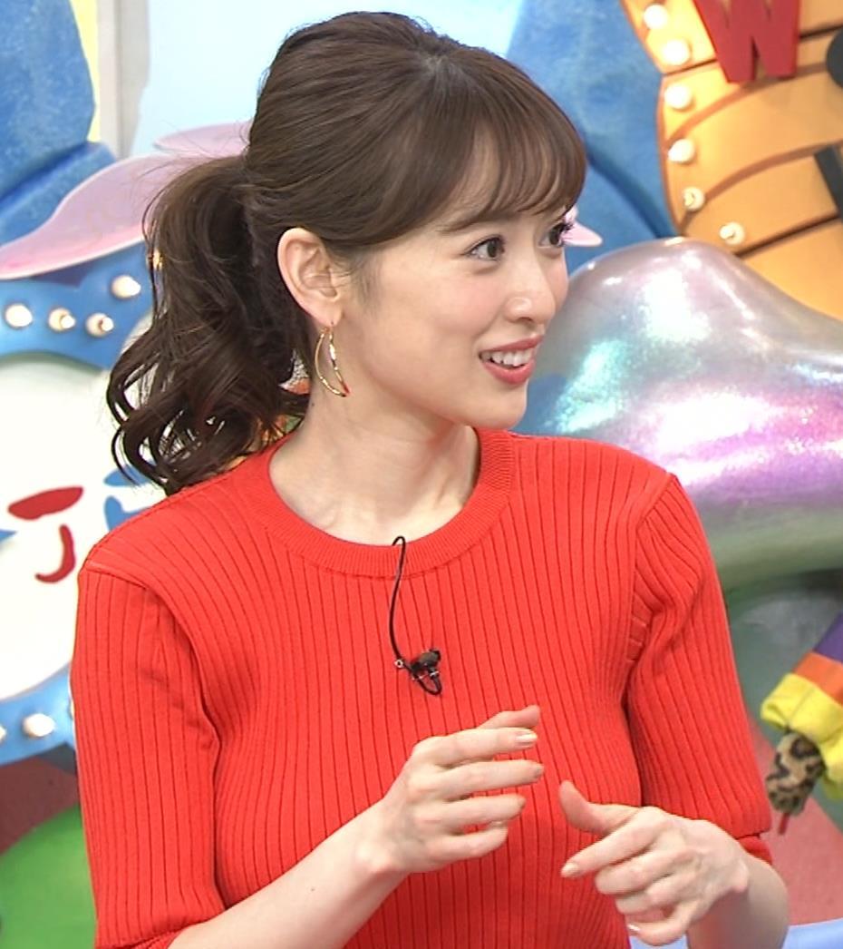 泉里香 ニットお胸がエロいキャプ・エロ画像6