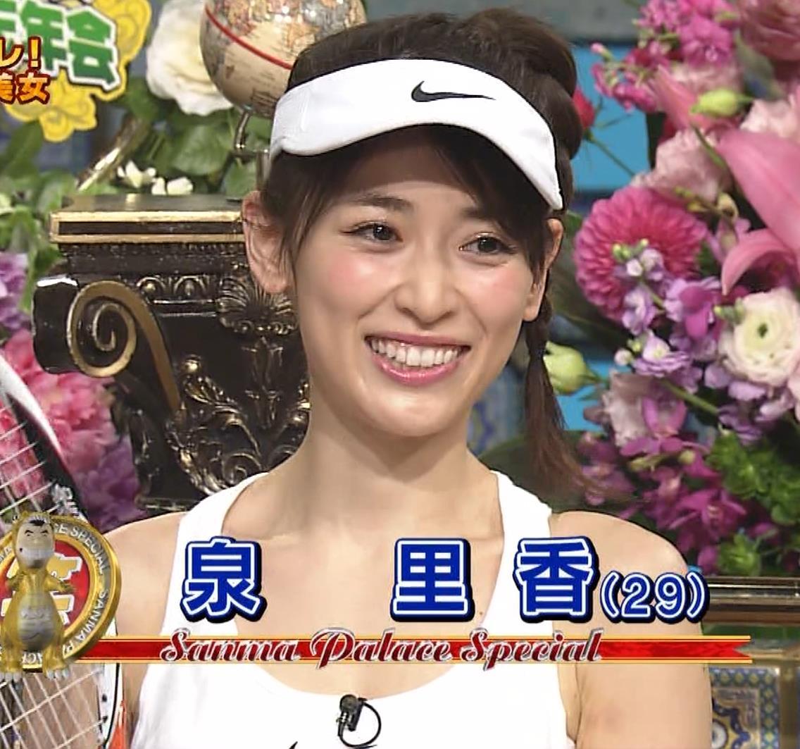 泉里香 テニスプレーヤーコスプレキャプ・エロ画像7