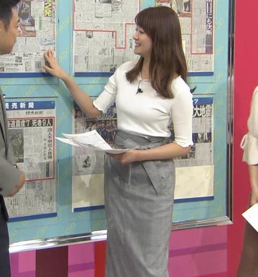 樺島彩アナ スタイルがいい美人アナキャプ・エロ画像