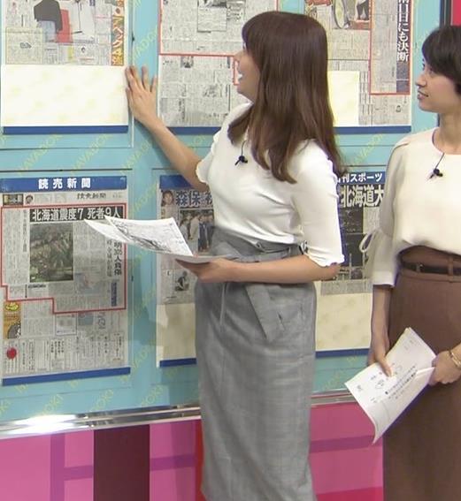 樺島彩アナ スタイルがいい美人アナキャプ・エロ画像2