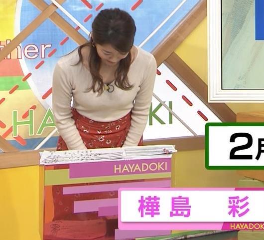 樺島彩アナ セクシー女子アナキャプ・エロ画像