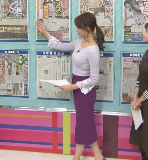 樺島彩アナ 身体つきがエロ過ぎキャプ・エロ画像3