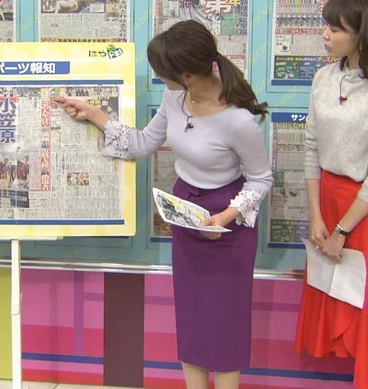 樺島彩アナ 身体つきがエロ過ぎキャプ・エロ画像5
