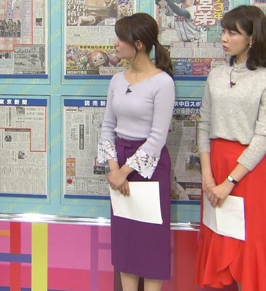 樺島彩アナ 身体つきがエロ過ぎキャプ・エロ画像6