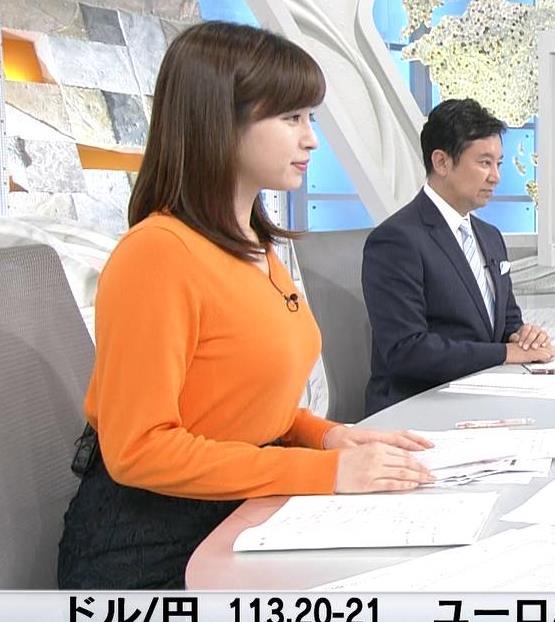 角谷暁子アナ デカい横乳キャプ・エロ画像3