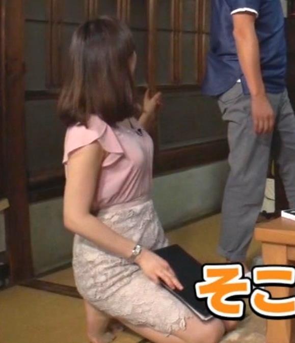 角谷暁子アナ おっぱいの盛り上がりがエロ過ぎキャプ・エロ画像11