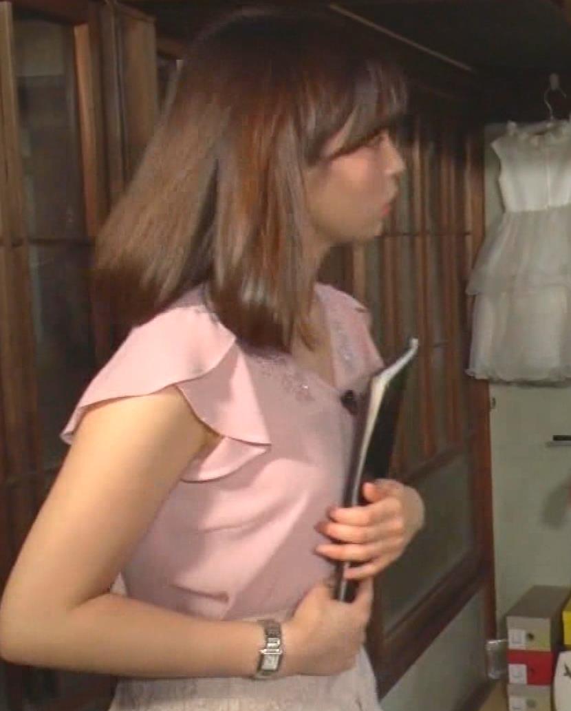 角谷暁子アナ おっぱいの盛り上がりがエロ過ぎキャプ・エロ画像13