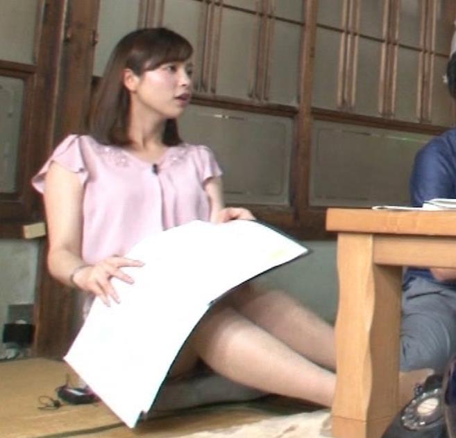 角谷暁子アナ おっぱいの盛り上がりがエロ過ぎキャプ・エロ画像3