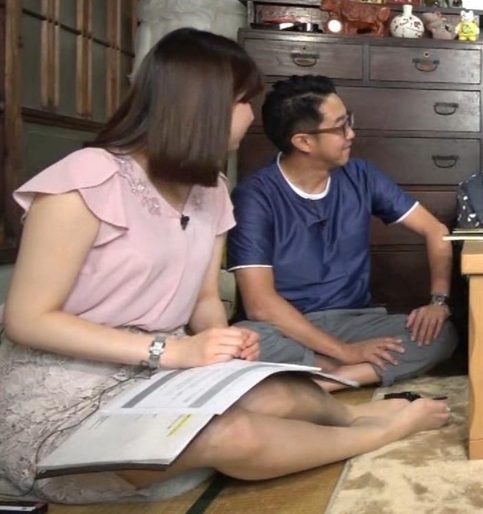角谷暁子アナ おっぱいの盛り上がりがエロ過ぎキャプ・エロ画像5