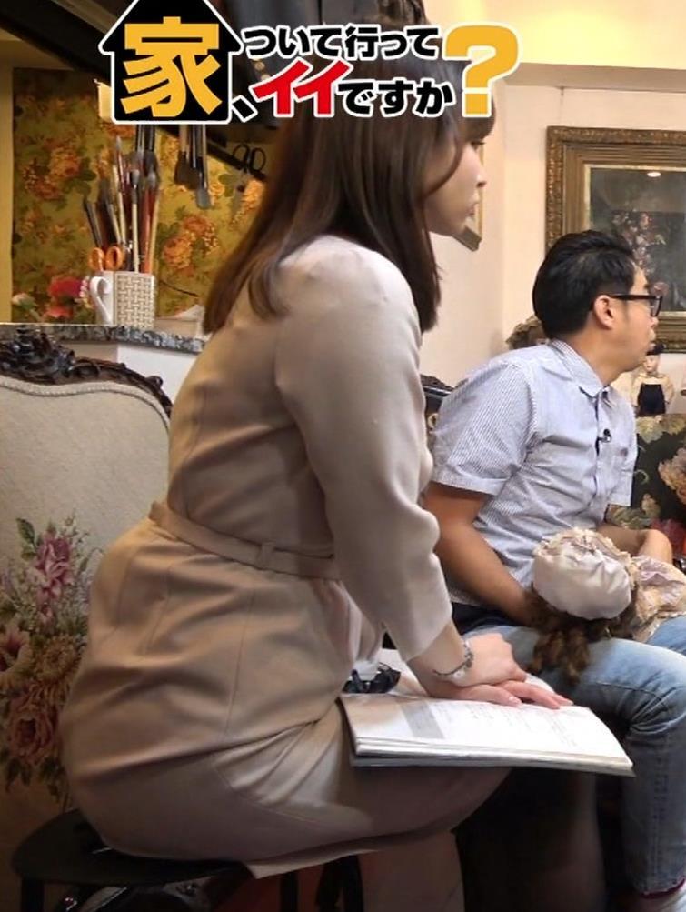角谷暁子アナ 黒ストッキングキャプ・エロ画像4