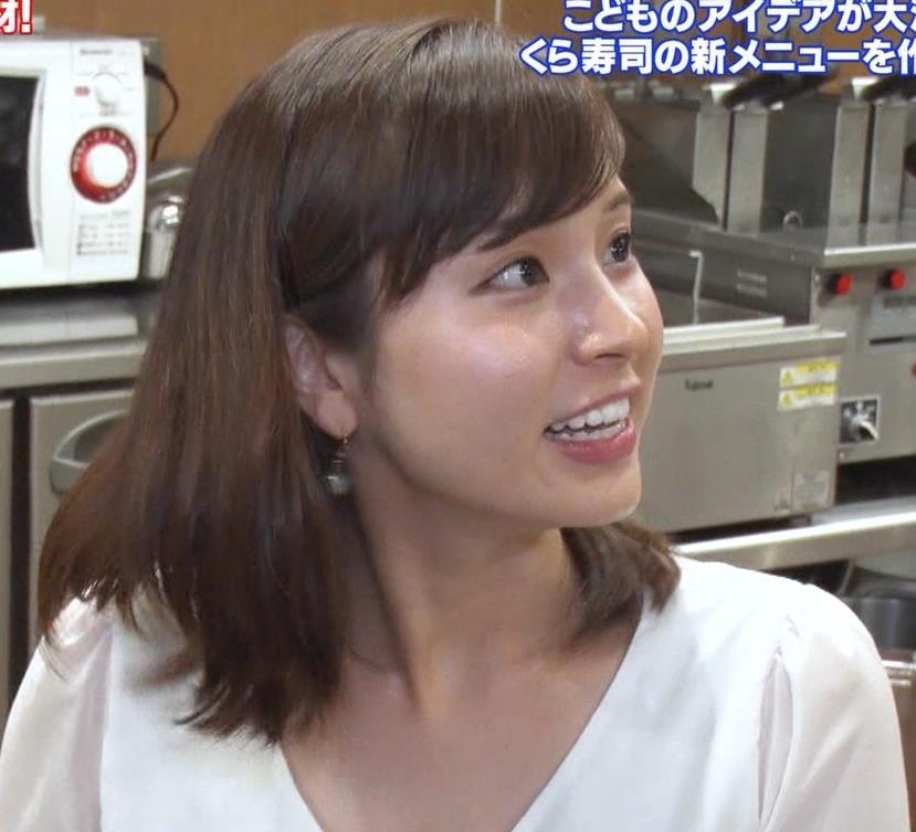 角谷暁子アナ タイトなスカートのお尻キャプ・エロ画像7