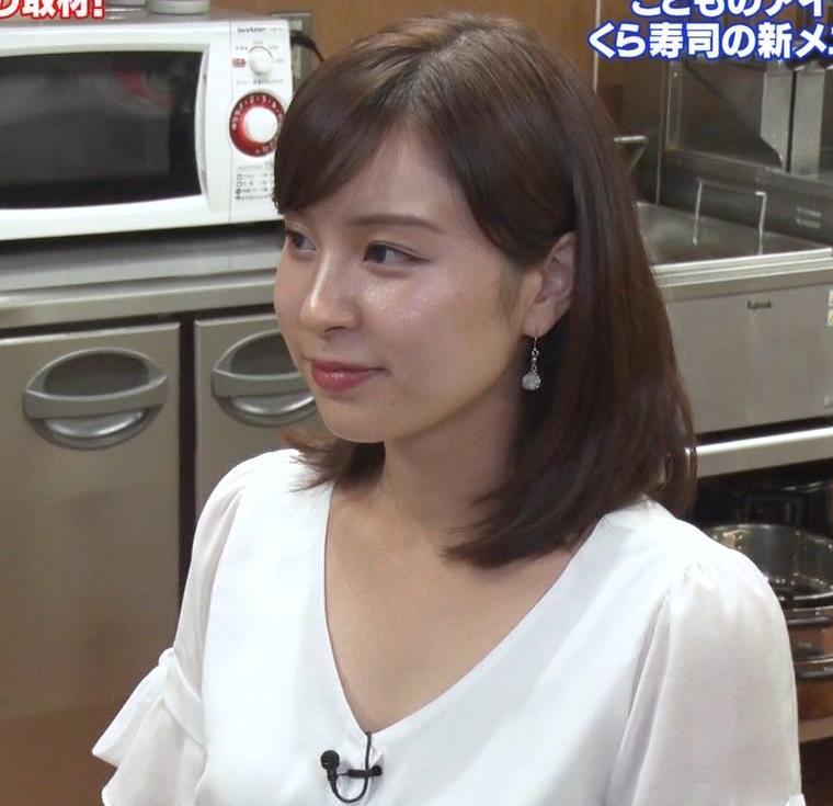 角谷暁子アナ タイトなスカートのお尻キャプ・エロ画像8