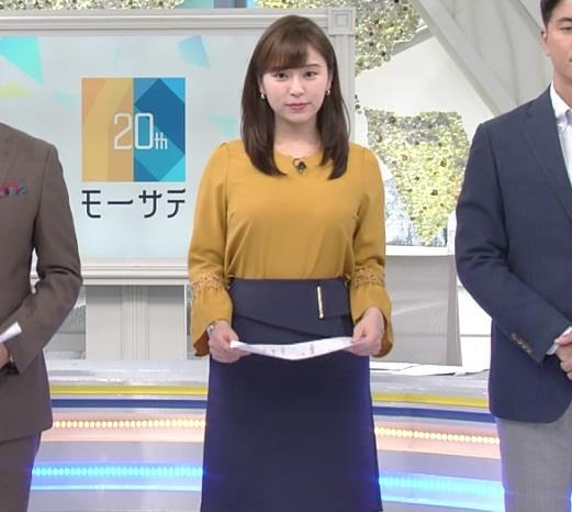 角谷暁子アナ 爆乳化してるキャプ・エロ画像