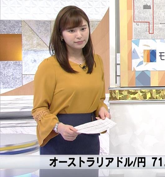 角谷暁子アナ 爆乳化してるキャプ・エロ画像4