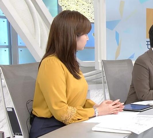 角谷暁子アナ 爆乳化してるキャプ・エロ画像7