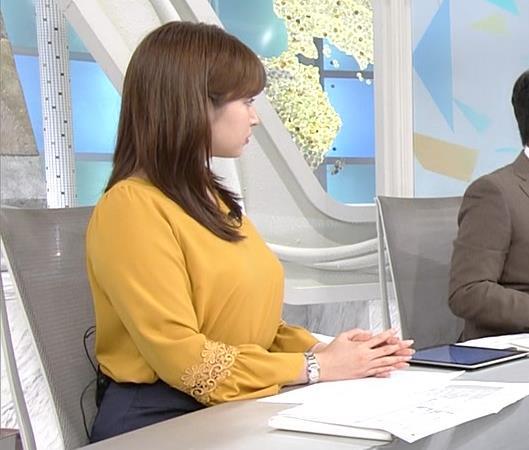 角谷暁子アナ 爆乳化してるキャプ・エロ画像8