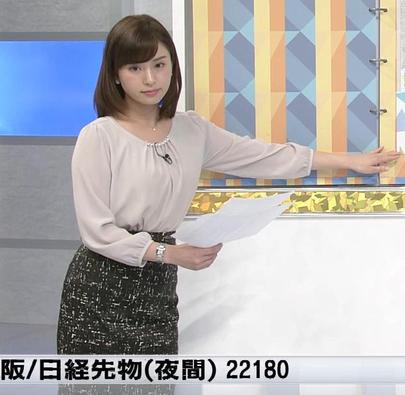 角谷暁子アナ モーニングサテライトキャプ・エロ画像2