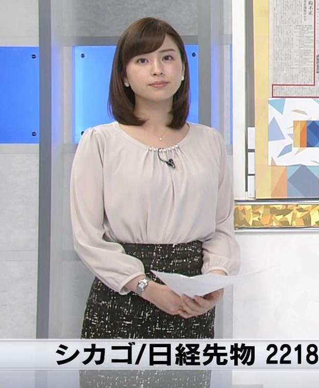 角谷暁子アナ モーニングサテライトキャプ・エロ画像3