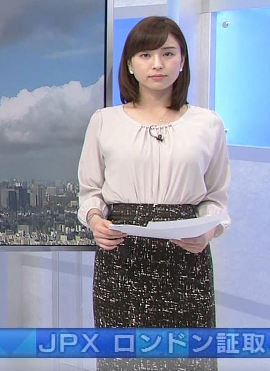 角谷暁子アナ モーニングサテライトキャプ・エロ画像4