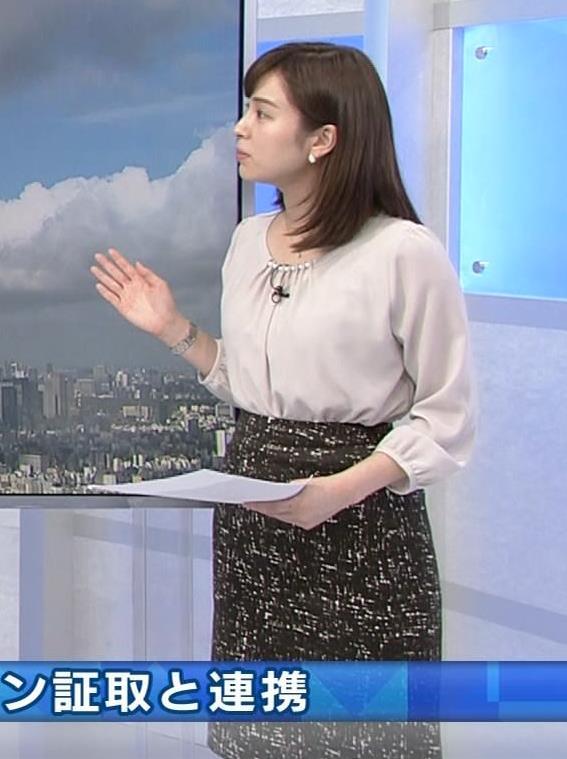 角谷暁子アナ モーニングサテライトキャプ・エロ画像5