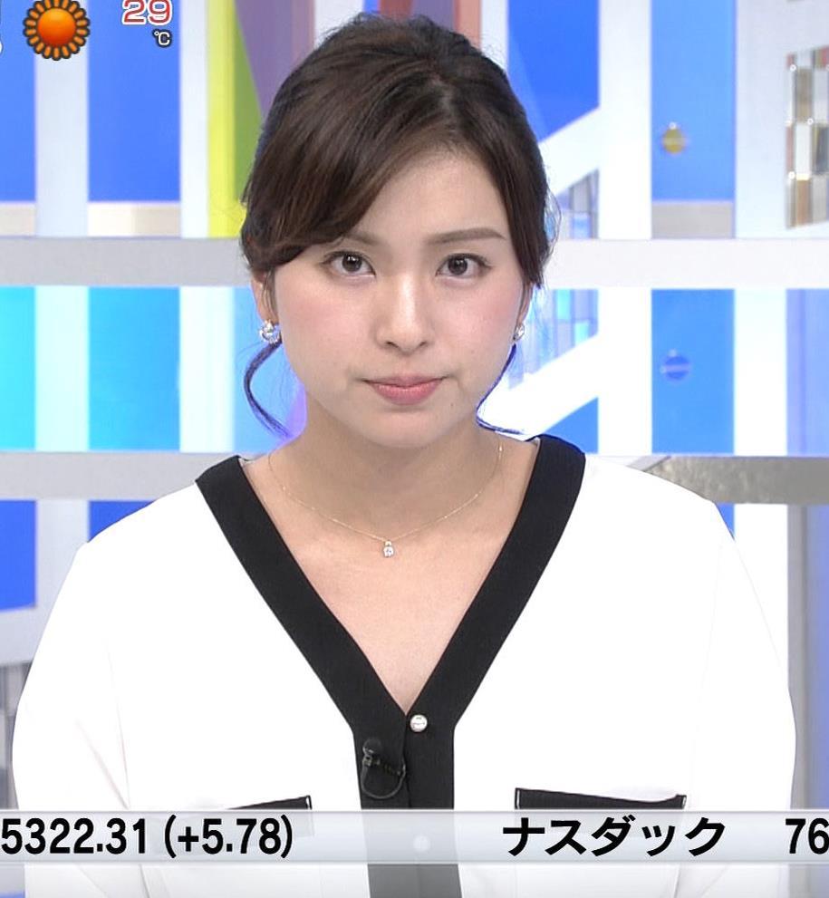 角谷暁子アナ タイトスカートのお尻キャプ・エロ画像3