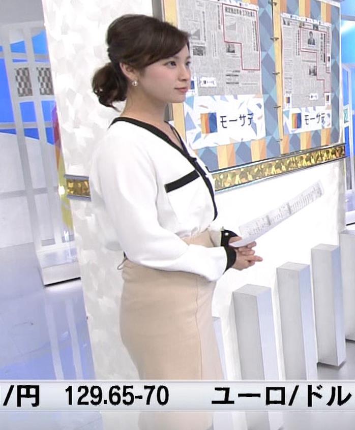 角谷暁子アナ タイトスカートのお尻キャプ・エロ画像4