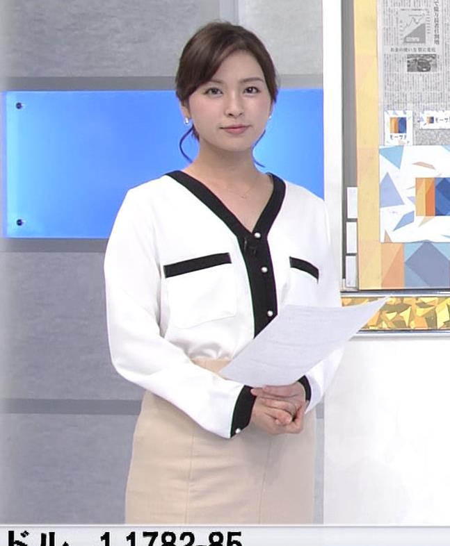 角谷暁子アナ タイトスカートのお尻キャプ・エロ画像5