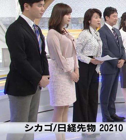 角谷暁子アナ でかそうな横乳