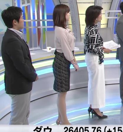 角谷暁子アナ エロい身体つきがキャプ・エロ画像