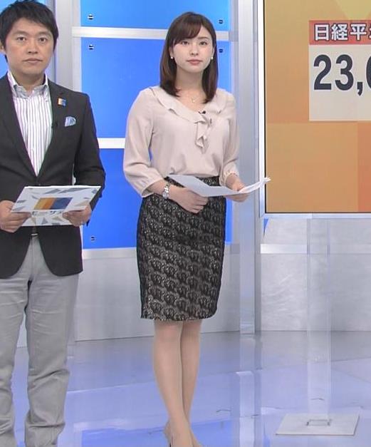 角谷暁子アナ エロい身体つきがキャプ・エロ画像5