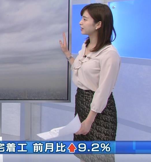角谷暁子アナ エロい身体つきがキャプ・エロ画像6