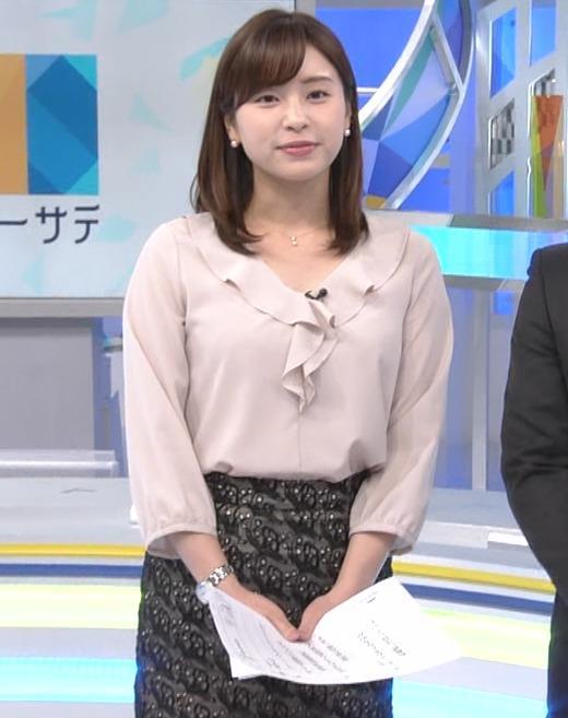 角谷暁子アナ エロい身体つきがキャプ・エロ画像9